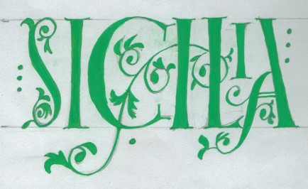 Sicilia - Calligraphy Gallery